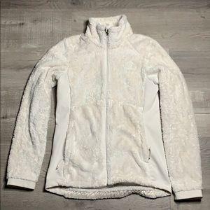 North face white jacket